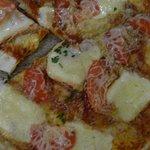 Colmar, Brasserie des Tanneurs, pizza Munster