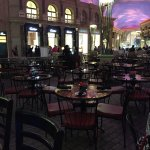 Restaurant view from the Oval Bar Trevi Las Vegas