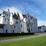 Blair Castle in the sunshine