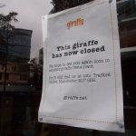 Giraffe, Spinningfields - now permanently closed