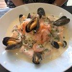 blanquette de saumon et fruit de mer