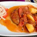Tuna cooked algarve style