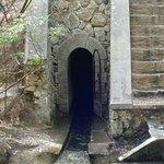 Einstieg des Tunnels.