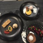 Three delicious deserts - wish I could remember what they were called but they all tasted great