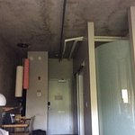 concrete walls, floors and ceiling