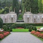 Glorious gardens with statuary