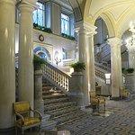 Central corridor in hotel