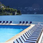 Pool and Lake Como