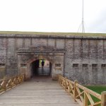 Entrance to Fort Macon
