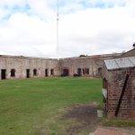 Fort Macon interior