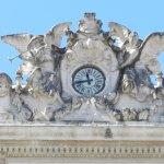 L'horloge de l'Opéra