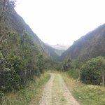 Camino hacia la reserva de Cóndores.