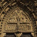 Excellent reliefs over doorways