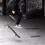 London's South Bank Skateboarders provide some great photo opportunities.