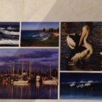Yamba Sassafras postcard