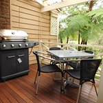 Family Room Balcony with Barbeque