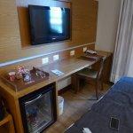 Room Regfrigerator and Desk