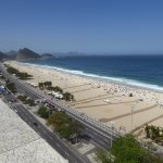 View of Copacabana Beach from Hotel Pool