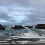 Glass Beach Looking Out To Sea