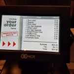 Pricey for burger date night, don't you think? It does taste good:-)