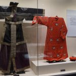 Traditional clothing inside the Temple museum