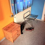 Small chest and luggage rack
