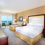 King Ocean View Room with Sofa Bed