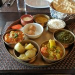 Thali dinner specialty. The best we ever had!