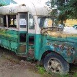 """""""Into the Wild"""" film replica bus"""