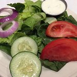 Side salad with bleu cheese ($3 if added to entree)