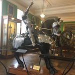 Fully armored horse & rider