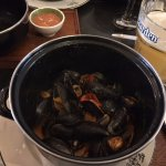 Thai mussels...