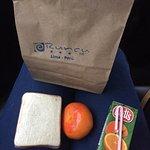 Desayuno para llevar al aeropuerto