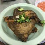 Fried Butter fish Collar