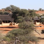 The lodge from the sandhill