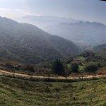 vista desde la cima de la montaña de la cueva