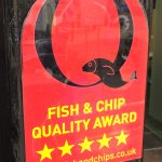 National Fish Friers Quality Award Holder.