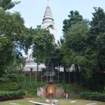 Wat gardens and clock