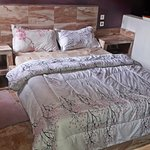 SPECIAL EXTRAS!  Queen Size Bed wih NEW BEDDING & 2 Night Stands w/extra Storage Space!