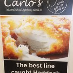 Only the best at Carlo's.