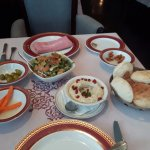 moutabel, fatouch salad