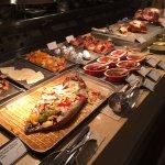 Massive range of hot food
