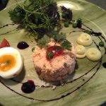 Fresh crab salad