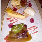 chefs dessert plate