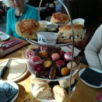 Brilliant afternoon tea unique amazing delicious what else can I say the lady was celebrating he