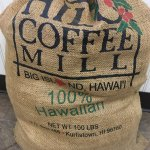 Hilo Coffee Mill Foto
