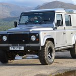 Hire a Defender and explore the stunning Cairngorm National Park