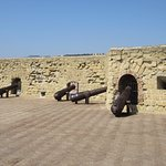 Cannons at Castel dell'Ovo