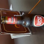 Great bar,super cold Super Bock beer.