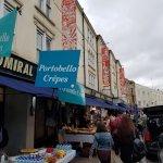 Portobello Market street stalls